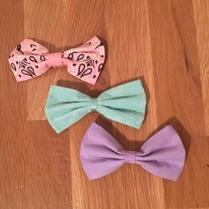 Set of 3 Hair bows